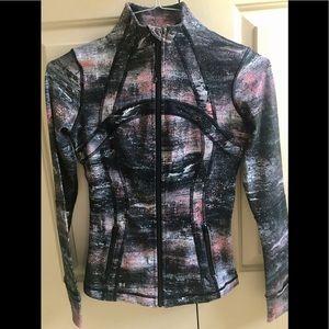 🍒LULULEMON sz 4 DEFINE Jacket AZURITE POPPY Coral - UBER RARE!!